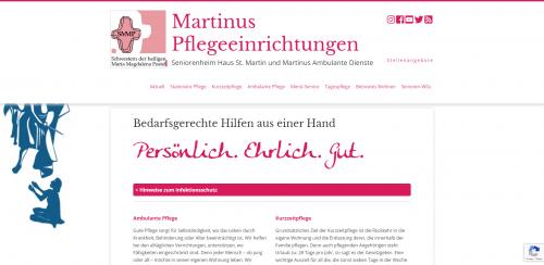 Firmenprofil von: Ihr Pflegedienst in Herten: Martinus Ambulante Dienste