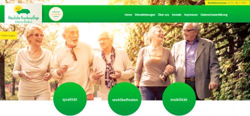 Firmenprofil von: Ihr kompetenter Pflegedienst in Geldern: Pflegeteam Johanna Naebers