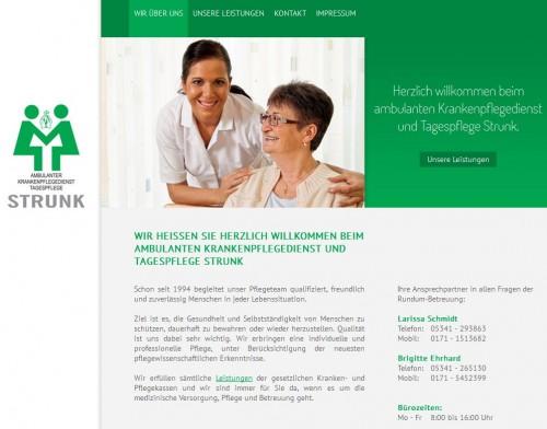 Firmenprofil von: Krankenpflegedienst & Tagespflege Strunk in Salzgitter