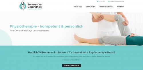 Firmenprofil von: Ihr Weg in ein unbeschwertes Leben: Zentrum für Gesundheit Physiotherapie Razlaf in Hennef