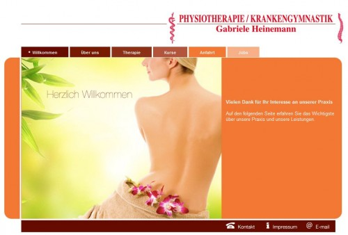 Firmenprofil von: Physiotherapie / Krankengymnastik in Quickborn: Gabriele Heinemann