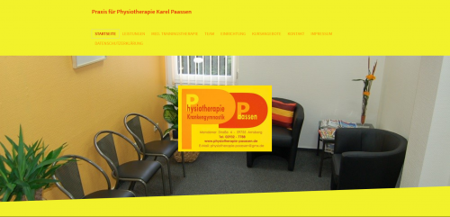 Firmenprofil von: Ihre Physiotherapie in Arnsberg-Neheim: Praxis für Krankengymnastik Paassen