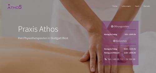 Firmenprofil von: Effektive Physiotherapie in Stuttgart West – Praxis für Physiotherapie Athos