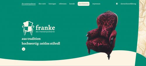 Firmenprofil von: Erleben Sie Ihre Möbelstücke neu – Meisterpolsterei Michael Franke in Berlin