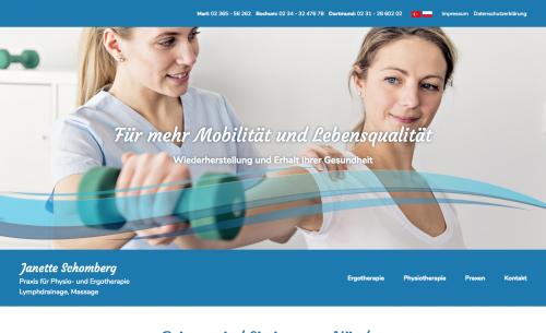 Firmenprofil von: Praxis für Physio- und Ergotherapie Janette Schomberg in Dortmund