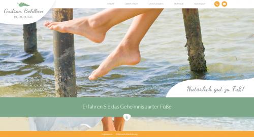 Firmenprofil von: Ihre freie Podologin in Euskirchen: Gudrun Bohlken