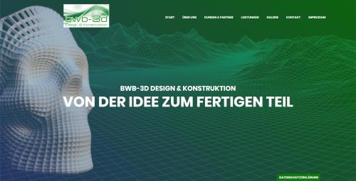 Firmenprofil von: Produktentwicklungen von den Profis aus Backnang: BWB 3D Design & Konstruktion