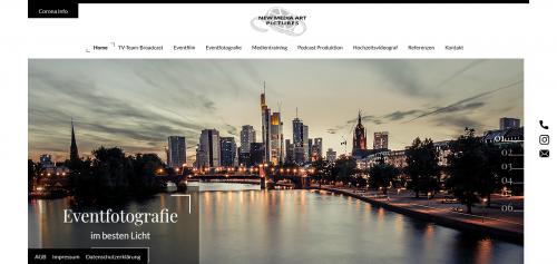 Firmenprofil von: Eventfilme, die Eindruck machen: New Media Art Pictures in Frankfurt