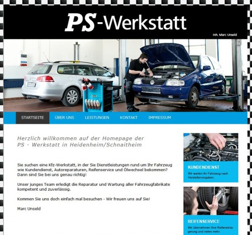 Firmenprofil von: PS-Werkstatt in Heidenheim