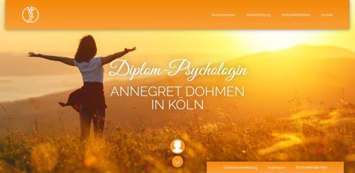 Firmenprofil von: Empathische Psychotherapie in Köln: Diplom-Psychologin Annegret Dohmen