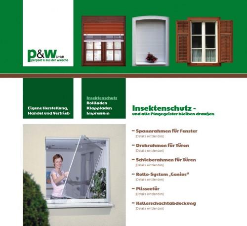 Firmenprofil von: p&w GmbH – Rollladenfachgeschäft in Duisburg
