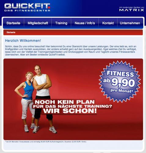 Firmenprofil von: QuickFit, Fitnesscenter in Dresden