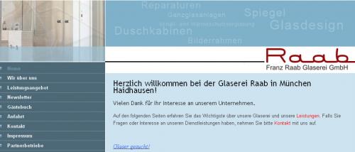 Firmenprofil von: Glaserei Raab in München