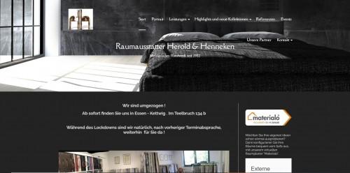 Firmenprofil von: Ihr professioneller Raumausstatter in Essen – Herold & Henneken