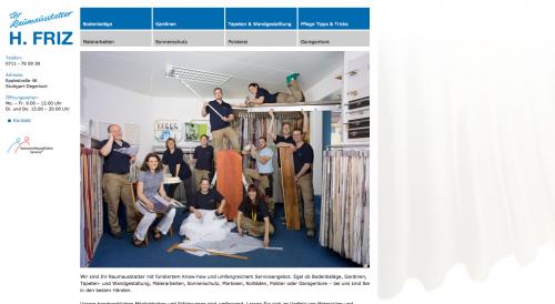 Firmenprofil von: Hochwertiger Sonnenschutz in Stuttgart: Raumausstattung Friz