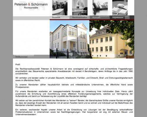 Firmenprofil von: Petersen & Schürmann Rechtsanwälte in Neustrelitz
