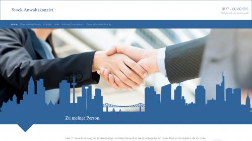 Firmenprofil von: Suche Strafverteidiger in Frankfurt: Christoph Stock Rechtsanwalt