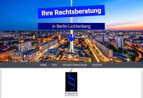 Firmenprofil von: Familienrecht - Rechtsanwalt Andreas Kolb in Berlin