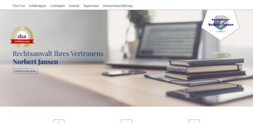 Firmenprofil von: Ihr Experte für Bußgeldverfahren in Münster – Rechtsanwalt Jansen