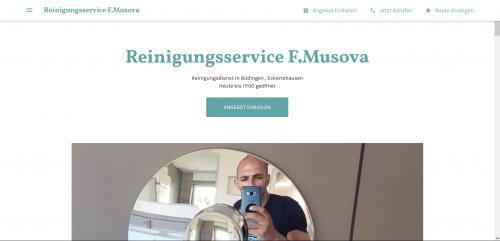 Firmenprofil von: Reinigungsservice F.Musova: Ihr Gebäudereiniger in Hanau