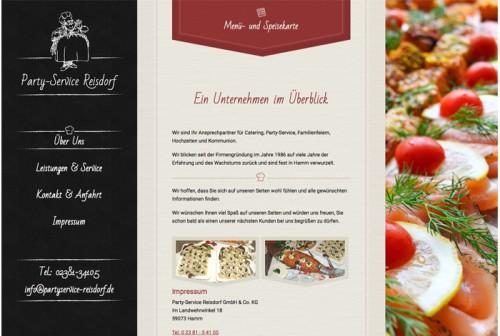 Firmenprofil von: Party-Service Reisdorf in Hamm: Gelungene Feiern und angesagte Events