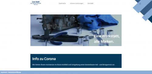 Firmenprofil von: Zuverlässige Kfz-Reparatur in Krefeld: Leroi GmbH