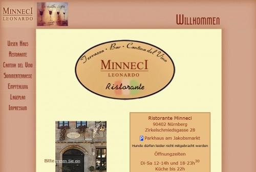 Firmenprofil von: Minneci Leonardo Ristorante in Nürnberg