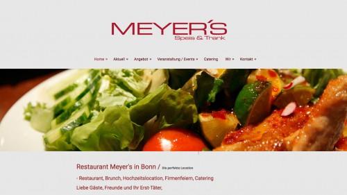 Firmenprofil von: Kulinarische Vielfalt im Restaurant Meyer's in Bonn