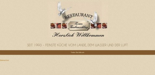 Firmenprofil von: Schmackhaftes Restaurant gesucht? Feinste Küche vom Land in Oranienburg