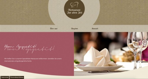 """Firmenprofil von: Restaurant """"Zur alten Zeit"""" in Bochum"""