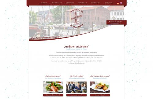 Firmenprofil von: Gut essen in Glückstadt – Das Restaurant zur alten Mühle