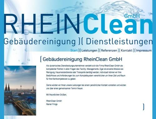 Firmenprofil von: RheinClean Gebäudereinigung GmbH in Köln