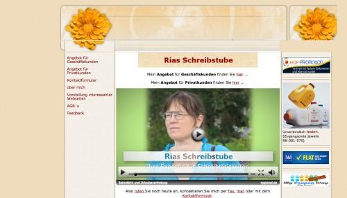 Firmenprofil von: Rias Schreibstube in Magdeburg