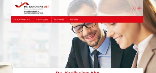Firmenprofil von: Risikomanagement mit der Versicherungsberatung von Dr. Karlheinz Abt