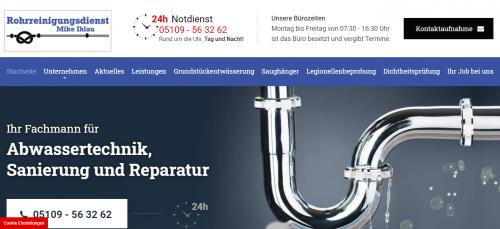 Firmenprofil von: Der Experte für Ihre Rohre in Ronnenberg: Rohrreinigungsdienst Mike Ihlau