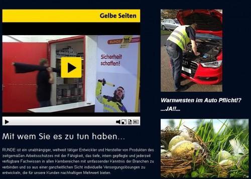 Firmenprofil von: Uniformen der GEBR. RUNDE GMBH in Hamburg Sicher gekleidet im Arbeitsalltag