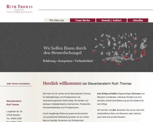 Firmenprofil von: Steuerberaterin Ruth Thomas in Straelen