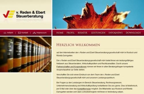 Firmenprofil von: v. Reden und Ebert Steuerberatungsgesellschaft mbH
