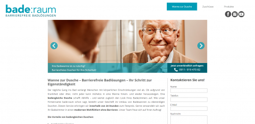 Firmenprofil von: Sanierung Ihres Bads mit den Profis von bade:raum