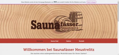 Firmenprofil von: Fasssauna Neustrelitz - der Partner für außergewöhnliche Wohlfühloasen