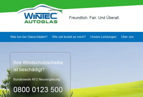 Firmenprofil von: Wintec Autoglas in Gummersbach