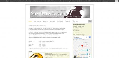 Firmenprofil von: Holzblasinstrumente in Hofheim: Rüdiger Sax-Service