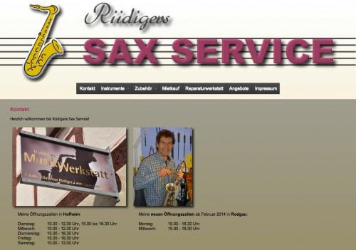 Firmenprofil von: Rüdigers Sax Service, Musikwerkstatt in Hofheim am Taunus