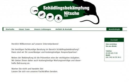 Firmenprofil von: Nitsche Schädlingsbekämpfung bei Papenburg