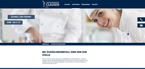 Firmenprofil von: Schädlingsbekämpfung Clausen in Mülheim an der Ruhr