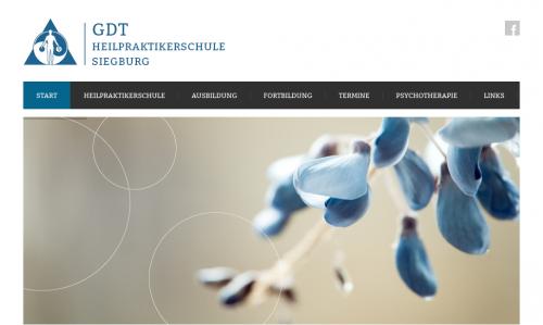 Firmenprofil von: GDT Heilpraktikerschule in Siegburg