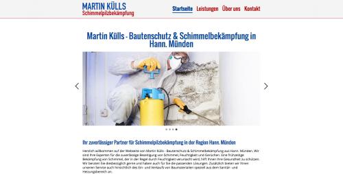 Firmenprofil von: Martin Külls: Experte für Bautenschutz und Schimmelbekämpfung in Hann. Münden