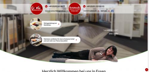 Firmenprofil von: Ihr Schlafberater in Essen: Creative Wohngestaltung