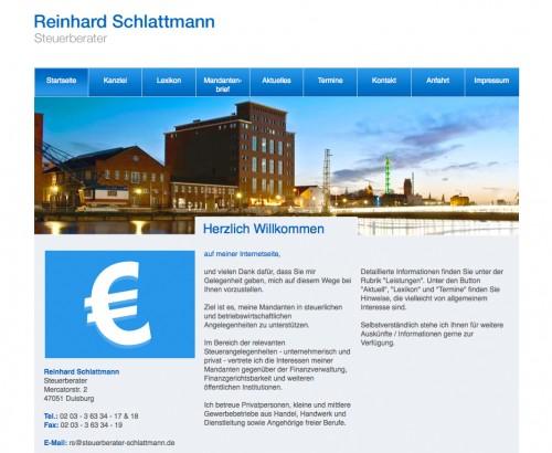 Firmenprofil von: Steuerberatungskanzlei Reinhard Schlattmann in Duisburg