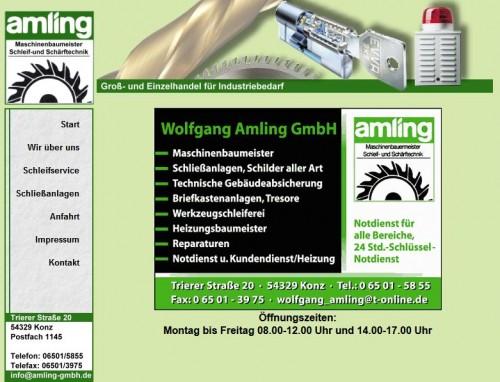Firmenprofil von: Wolfgang Amling GmbH, Schlüssel-Notdienst in Konz